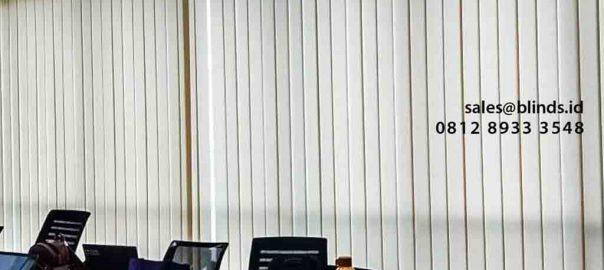 Jual Vertical Blinds Dimout Sp 8000-7 Beige Perwata Tower CBD Pluit Penjaringan Jakarta id5266