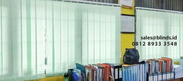 Jual Vertical Blinds Dimout Sp 8005-5 Green Project SMPN 227 Pejaten Barat Pasar Minggu Jakarta id5276