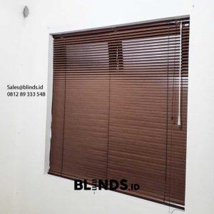 Jual Venetian Blinds Wood Motive SP 936 W Perumahan Modernland Cluster Sakura Tangerang Id6011
