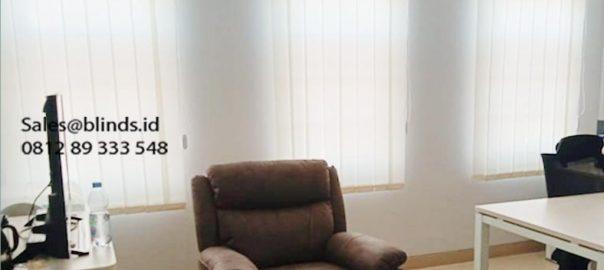 Jual Vertical Blinds Dimout Sp 8006-2 Off White Ruko SEDAYU SQUARE Cengkareng Jakarta Id5995