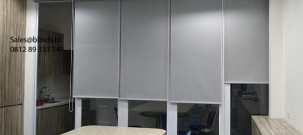 Roller Blinds Blackout Sp 6046-5 Grey Warung Buncit Raya Duren Tiga Pancoran Id6165
