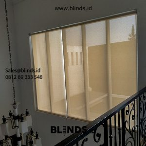 Roller Blinds Solar Screen Sp 2600-5 Cream Pasang Pondok Bambu Duren Sawit Id5626