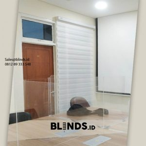 Jual Zebra Blinds RW 9001 White Komplek Pertamina Ciputat Timur Tangerang ID6253