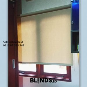 Roller Blinds Dimout Ruangan Jadi Cantik & Sejuk id5942