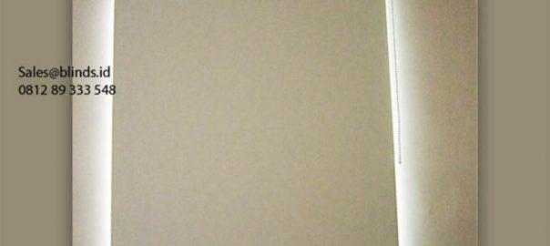 Jual Tirai Roller Blinds Sp 6046-10 White Cluster Azura Vanya Park Pagedangan