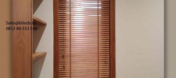 Wooden Blinds Tirai Terbaru Bikin Ruangan Semakin Mewah ID6149