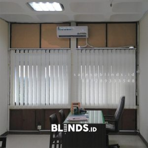 Jual Tirai Vertical Blinds Sp 8000-8 Cream Mabes TNI Cilangkap Cipayung Jakarta ID5619