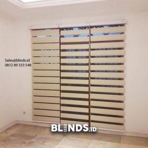 Zebra Blinds Custom Sp Z77 Khaki Sasak Kelapa Dua Kebon Jeruk Jakarta id5508