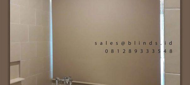 Roller Blinds Blackout Sp 6044-2 Beige Apartemen St Moritz Puri Indah Kembangan ID5855