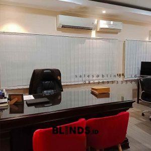 Vertical Blinds Dimout Sp 8000-8 cream Ditreskrimsus Polda Metro Jaya Senayan Kebayoran Baru ID5955