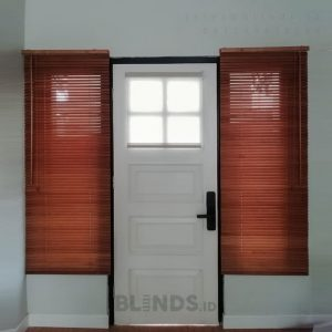 Jual Wooden Blinds 03 WB Light Natural Raffles Hills Cibubur Sukatani Tapos Depok ID6712