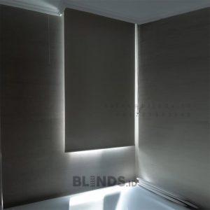Roller Blinds Blackout Sp 6045-2 Beige Apartment Taman Anggrek Grogol Petamburan ID6766