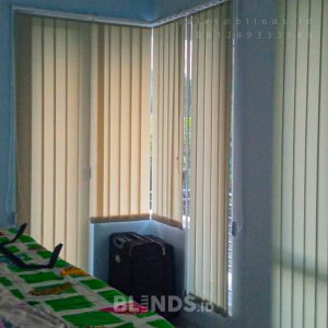 Tirai Vertical Blinds Sp 707-2 Silk Grey Kompleks The Westpoint Jatisampurna Kota Bekasi ID6793